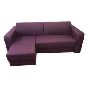 Диван угловой Нью-Йорк Фиолетовый